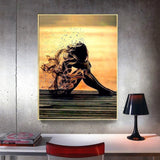 Vanishing Girl - Diamond Painting Kit