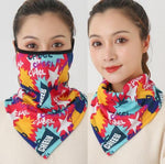 2-In-1 Winter Warm Scarf & Mask