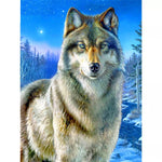 Winter Wolf - Diamond Painting Kit