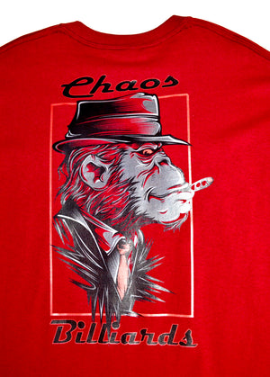 Men's Pool Junkie Monkey Shirt
