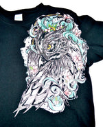Women's Ornate Owl Shirt