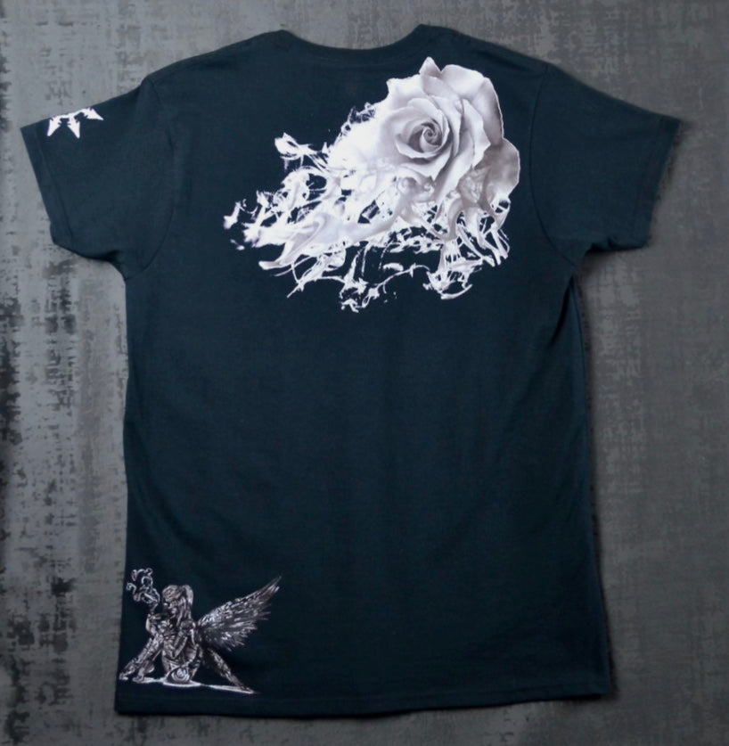Women's Fallen Angel & Rose T-Shirt