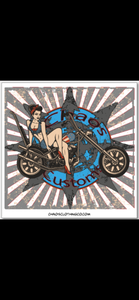 Pinup Customs Sticker