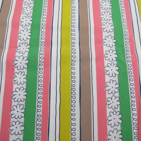 1950s Fun Stripe Cotton