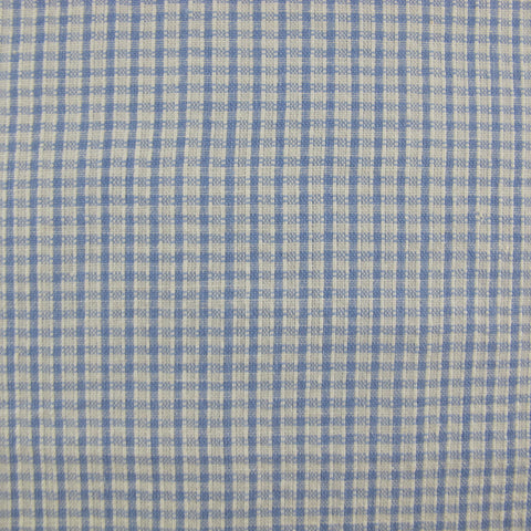 1940s Pale Blue Micro Check