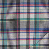 1980s Madras Check Cotton