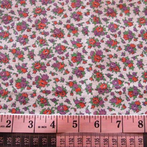 Feedsack 016 early 30s simple floral