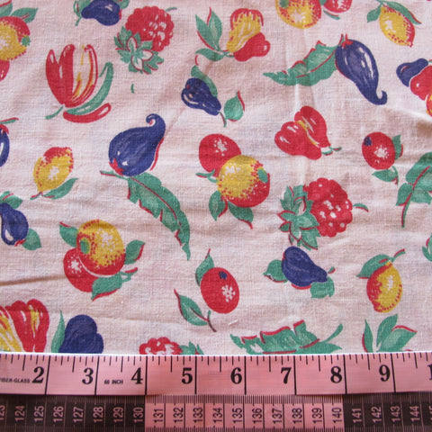 Feedsack 041 40s Fab Fruits