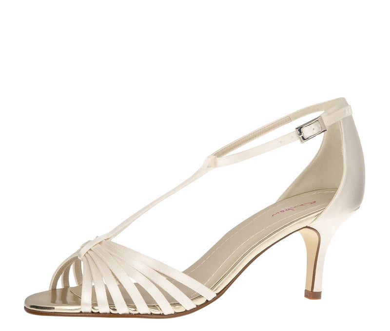 Brautschuh Rainbow Club in Ivory - Estelle