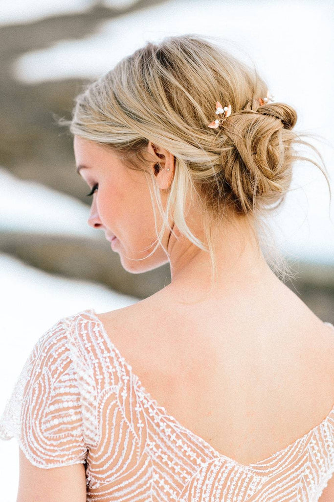Braut Top, Perlentop in Ivory und Blush - Ivy (Foto: Le Hai Linh)