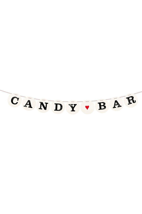 Letters Girlande CANDY BAR for the Wedding of Renna Deluxe