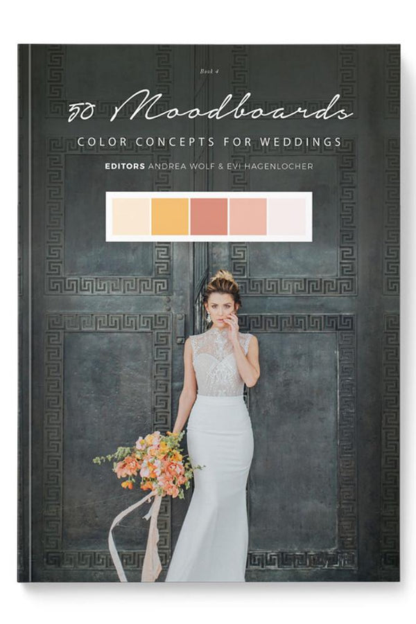 50 Moodboards - Color Concepts for Weddings, Buch 4