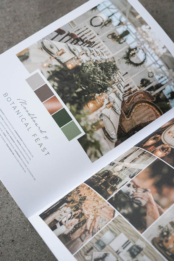 50 Moodboards - Color Concepts for your wedding Buch 1