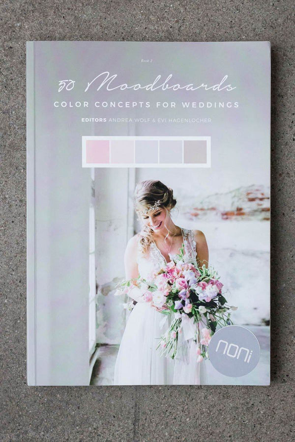 50 Moodboards - Color Concepts for your wedding, Buch 2