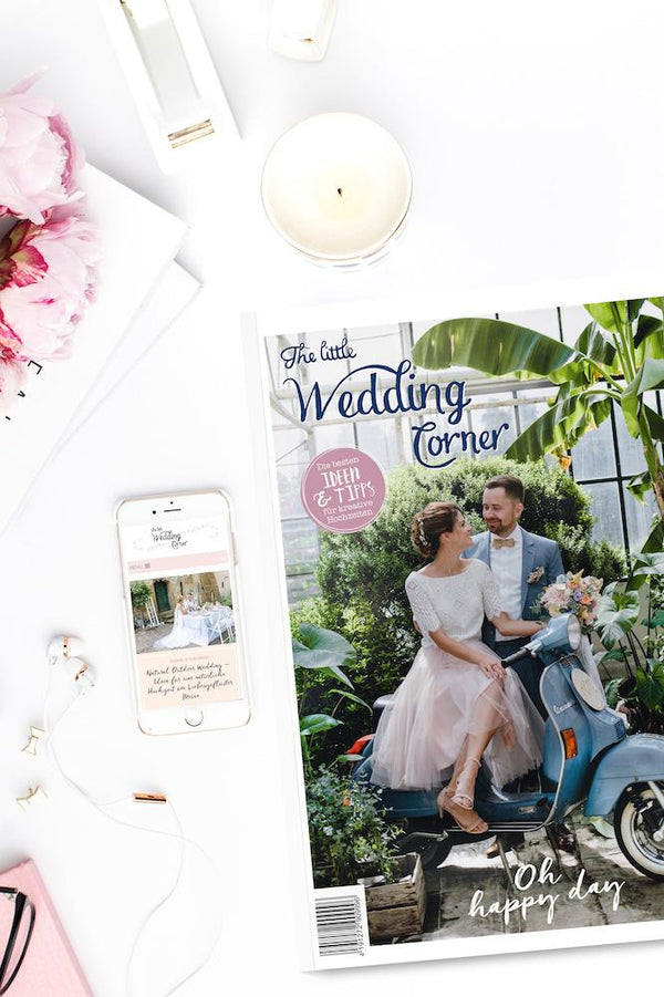 "Magazin zur Hochzeitsplanung - ""The little Wedding Corner"" 2019/2020"