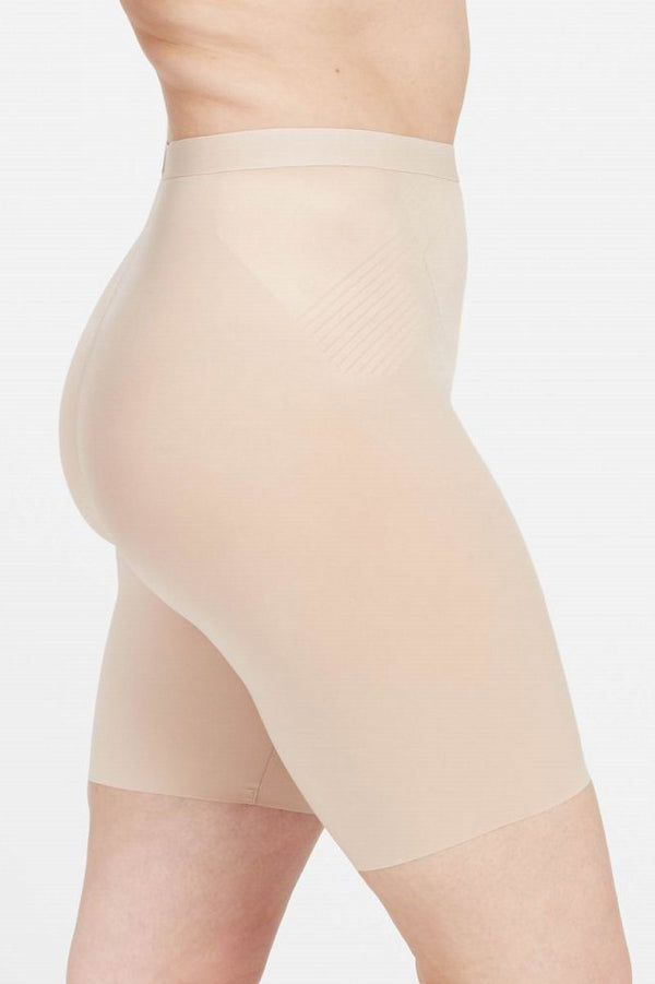 Thinstincts® 2.0 Mid-Thigh Short, Shapewear-Shorts - SPANX in Beige