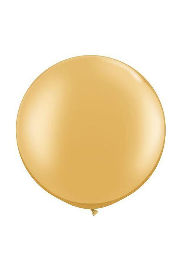 Riesenballon Gold Metallic (75cm)