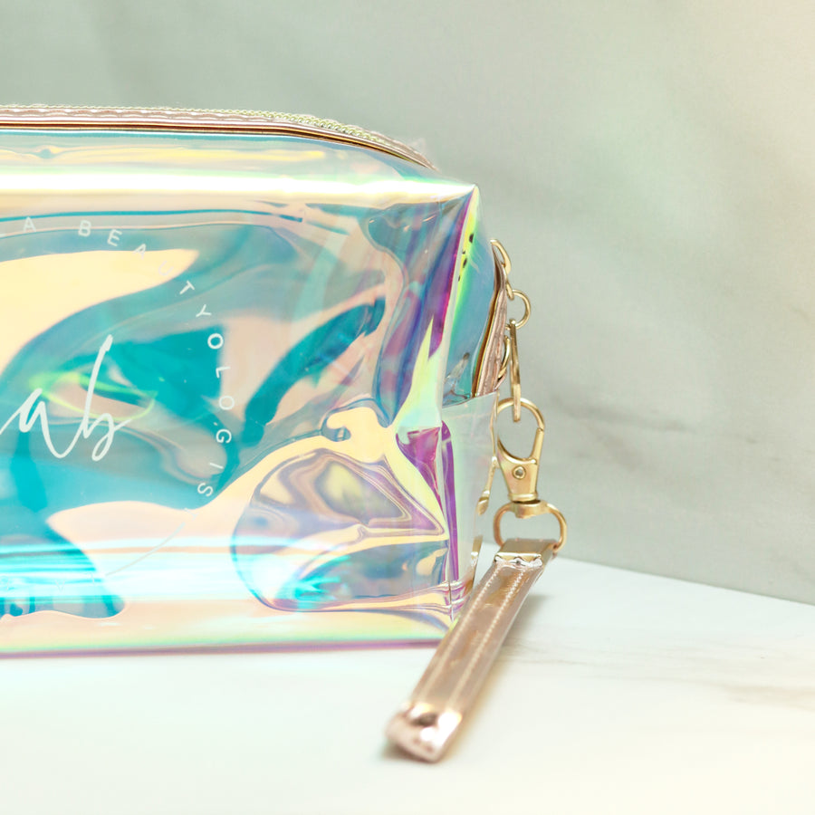 Holographic LABeautyologist Skincare Bag
