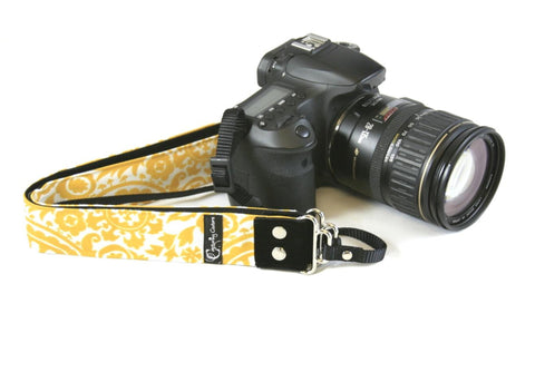 New-Zealand-Capturing-Couture-Penelope-Sun-yellow-Camera-Strap-Accessories