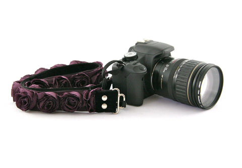 New Zealand Capturing Couture Plum Rose Organza straps