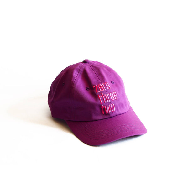 Logo Dad Hat Magenta