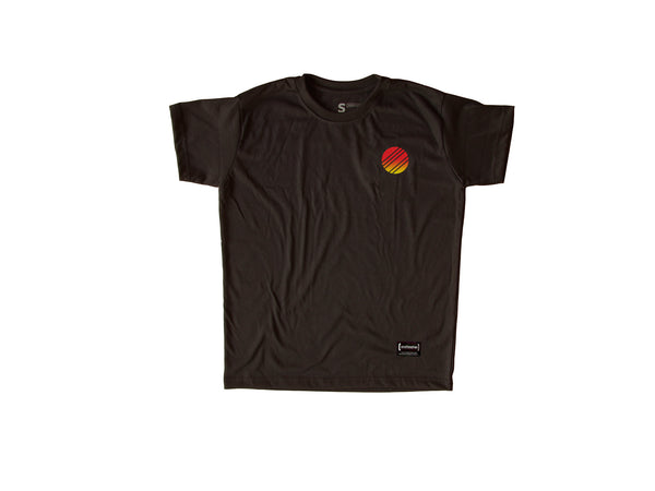 Fire Black T-Shirt Men