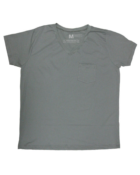 Grey Suave V-Neck (Men)