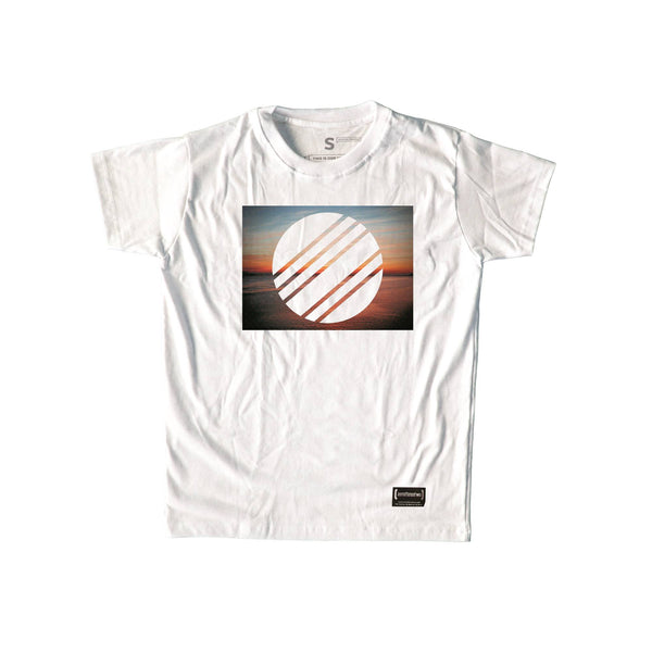 Horizon White T-Shirt Men