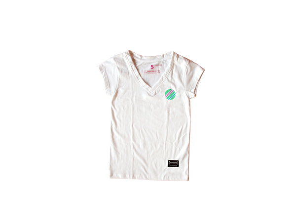 Mint White T-Shirt Women