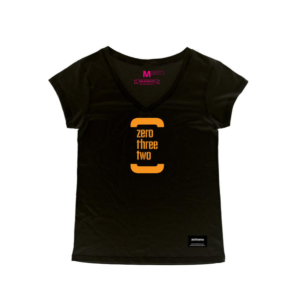 The Classic Zerothreetwo Women (Black Shirt)