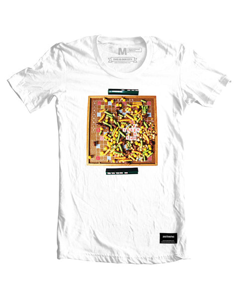 Snacks and Scrabble T-Shirt White Men