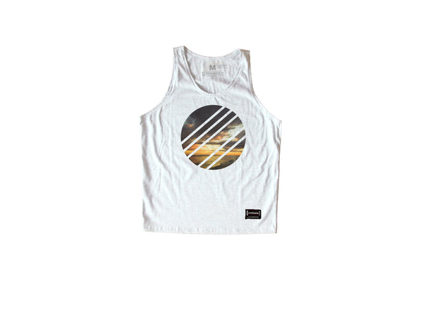 Summer White Sando Men