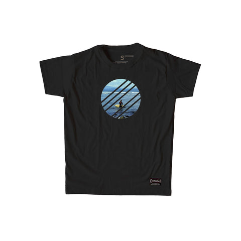 Surf Black T-Shirt Men