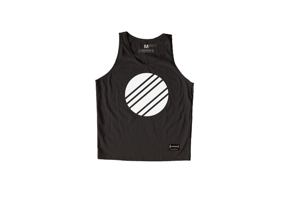 White Circle Grey Sando Men