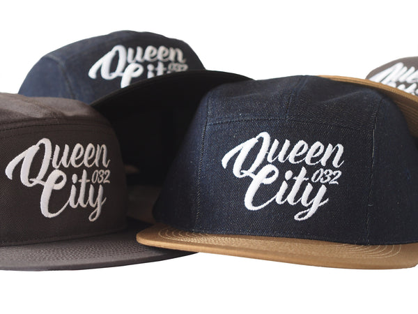 Queen City 5 Panel Snapback Cap