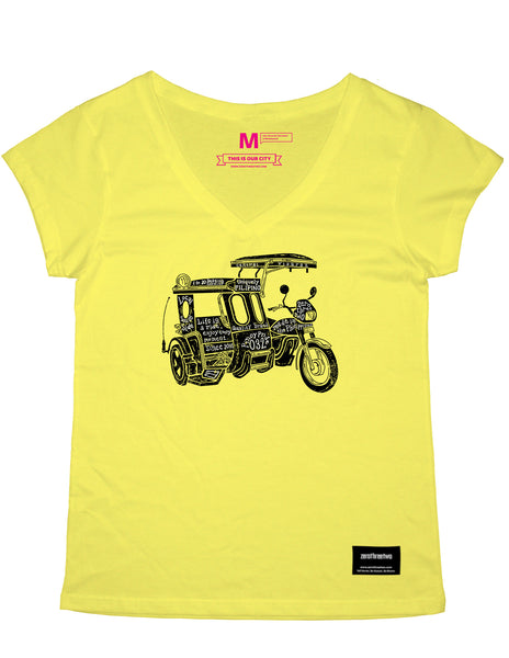 Trike the Pinoy Way (Yellow Shirt Women)