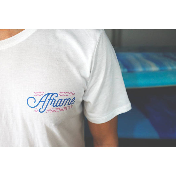 Purveyors Aframe Tee White
