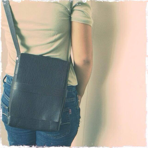 Leather Base Bag (Size of iPad Mini)