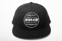 The Saltees Aframe Snapbacks (Black)