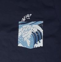 Dive Blue Pocket Tee Women
