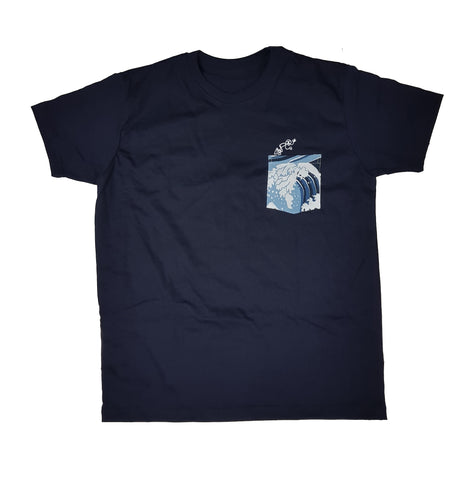 Dive Blue Pocket Tee Men