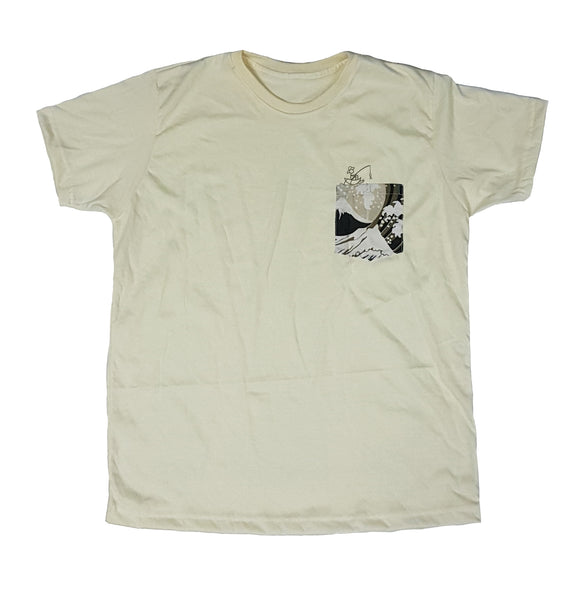 Fish Cream Pocket Tee Men