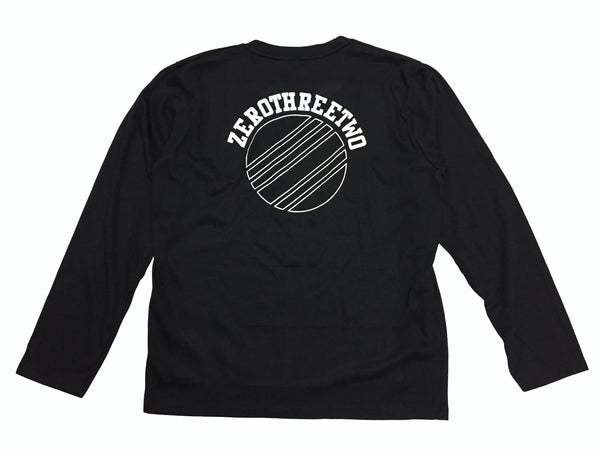 Transparent Circle L/S Black