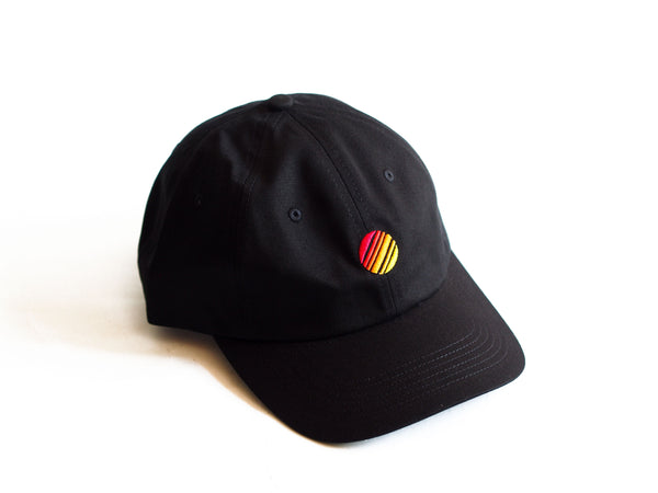 Fire Dad Hat Black