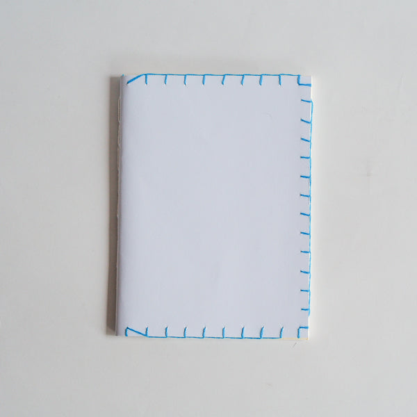 Blue Stitch Notebook