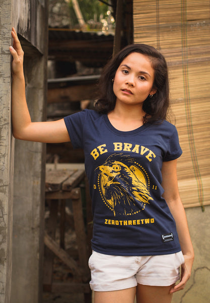 Be Brave Women (Blue Shirt)