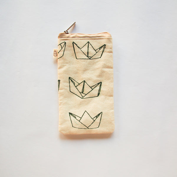Paper Boats Pencil Case
