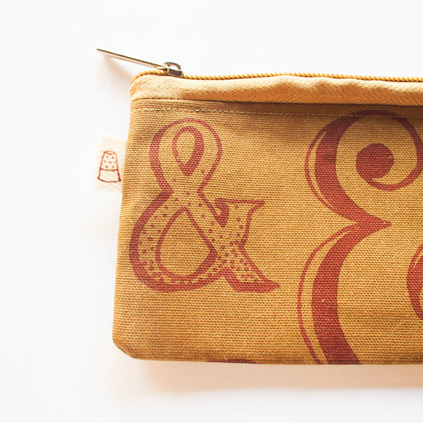 Ampersand Long Purse