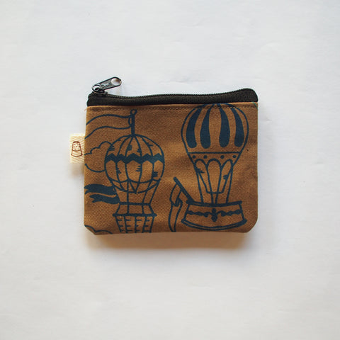 Hot Air Balloon Coin Purse