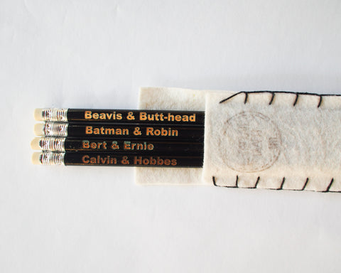 Famous Duos Pencils Black